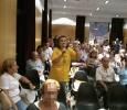 Plenari Ajuntament - Ensenyament protesta contra recortes