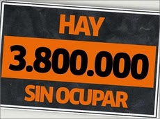 HI HA 3.800.000 PISOS BUITS