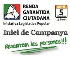 renda garantida ciutadana - campanya ILP