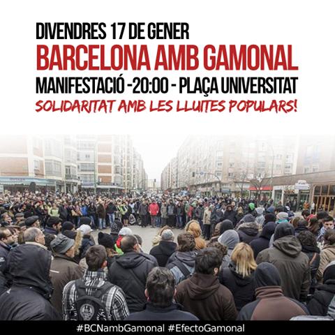 barcelona amb gamonal