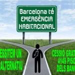 un pla alternatiu emergencia habitacional per Barcelona