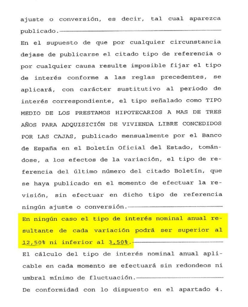 Gu a completa sobre la cl usula suelo entender reclamar for Precio abogado clausula suelo